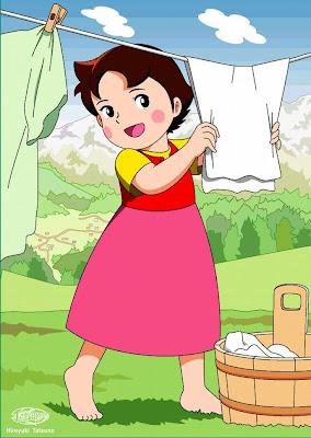 Heidi picture cartoon