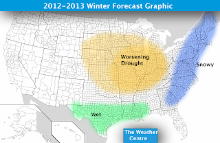 weather centre 2012-2013 winter forecast | Farmers' Almanac Forum