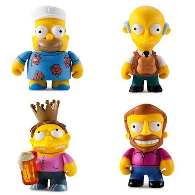 The Simpsons 25th Anniversary Mini Figure Series by Kidrobot