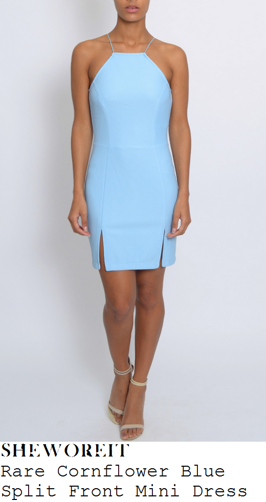 jasmin-walia-light-blue-sleeveless-split-hem-mini-dress-birthday