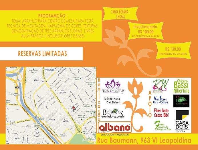 Workshop de Ikebana e Arte floral DIA 28/05  Reservas Limitadas