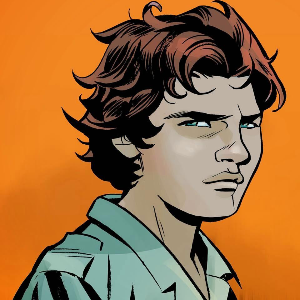 Raul disegnato da Luca Maresca - Orfani 5