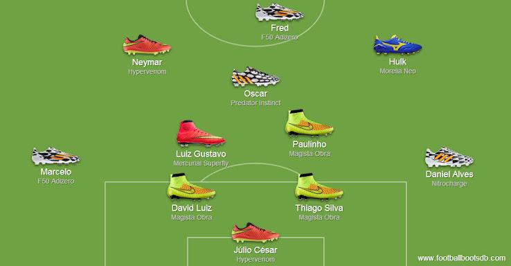 Neymar 2014 World Cup Boots