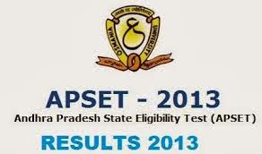 Manabadi Schools9 APSET Results 2013
