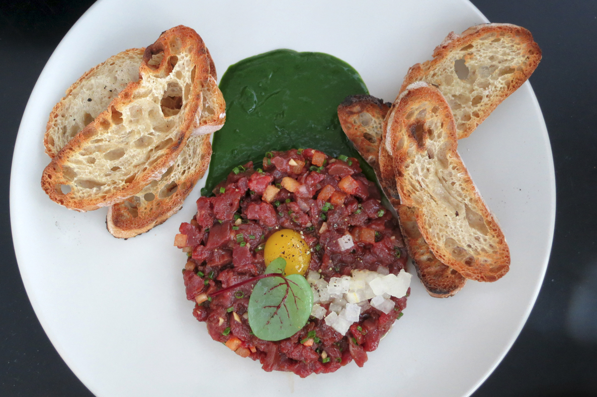 Superba Snack Bar Beef Heart Tartare