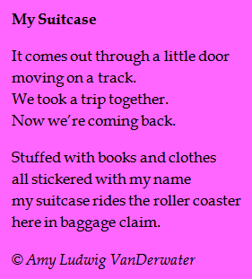 The Poem Farm: My Suitcase - Eavesdropping Poems