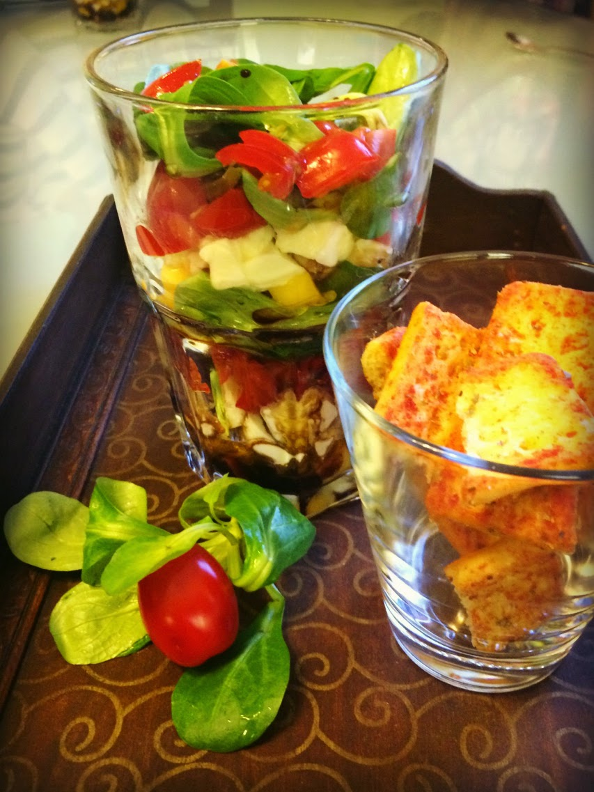 Mango-Mozzarella-Trifle - Ideenpiratin