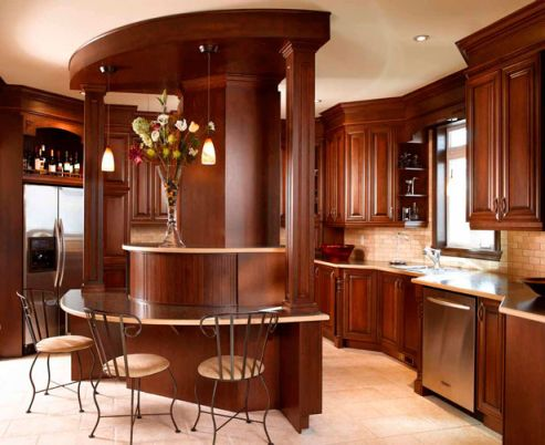 Cabinets For Kitchen Dark Brown Kitchen Cabinets Pictures