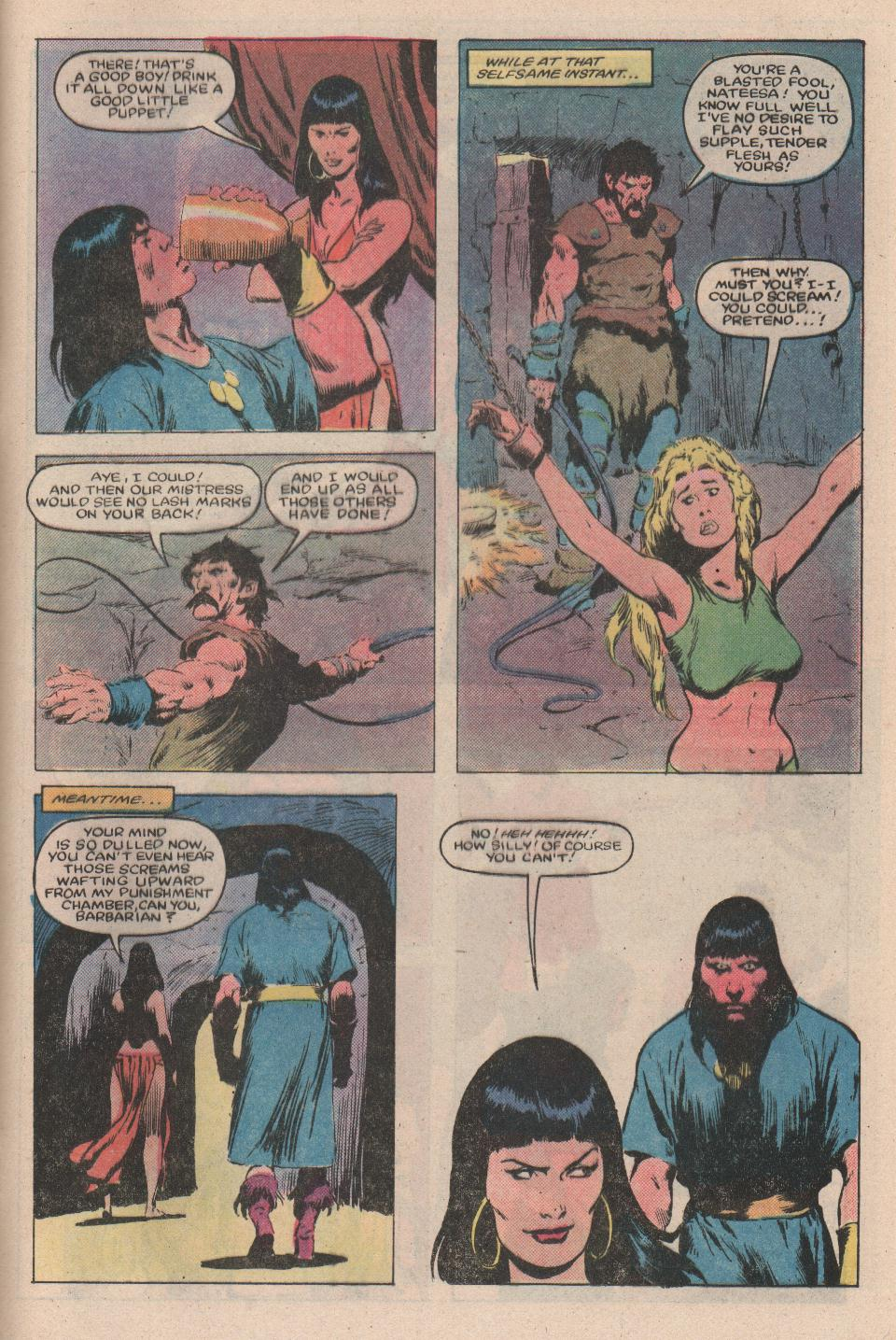 Conan the Barbarian (1970) Issue #159 #171 - English 16