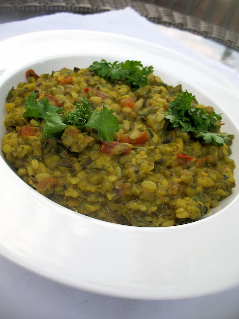 mung bean urad dal curry