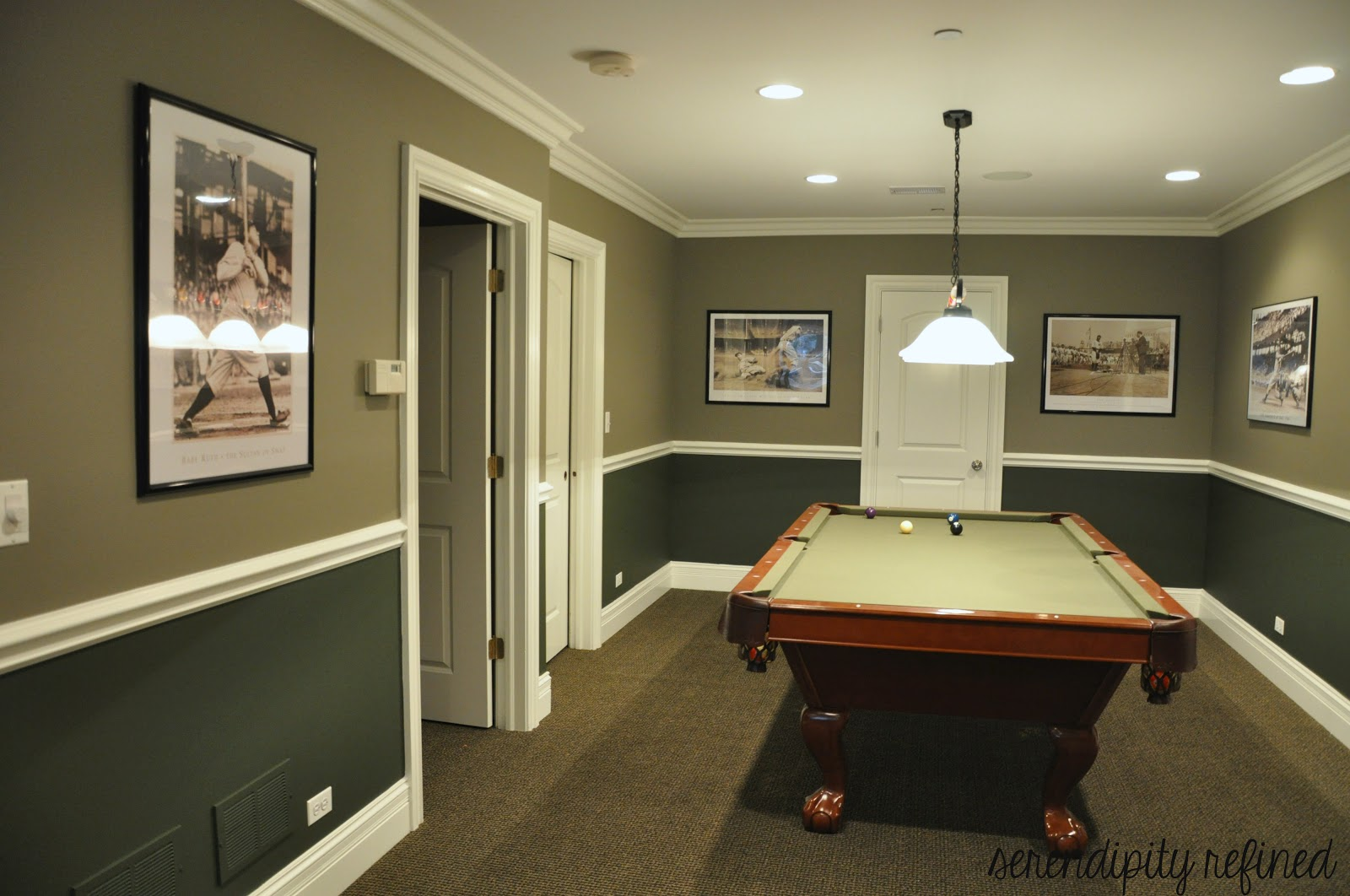 cool basements basement make over reveal and