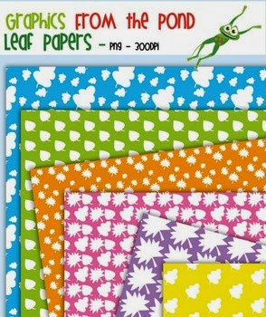 Free Leaf Digi Paper Pages