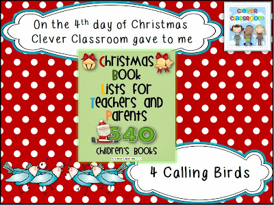 13 Days of Christmas Giveaway - Clever Classroom Blog