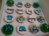 football theme cupcakes