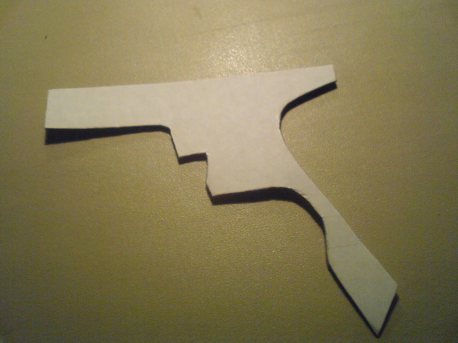 Pistola Blacktail - Resident Evil DSC04433