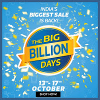 Flipkart Big Billion Days Offers – 13th to 17th Oct 2015