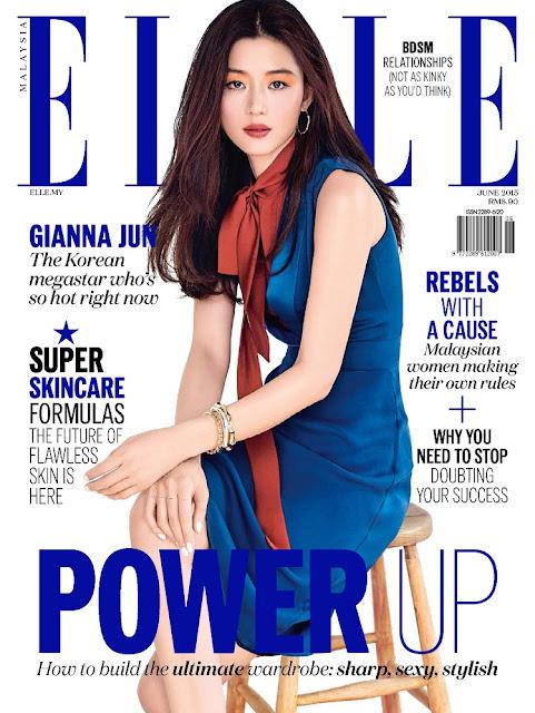 Actress @ Gianna Jun - Elle Malaysia, June 2015