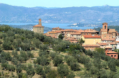 Panicale near Lake Trasimeno
