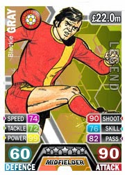 Blackie Gray Match Attax Legend