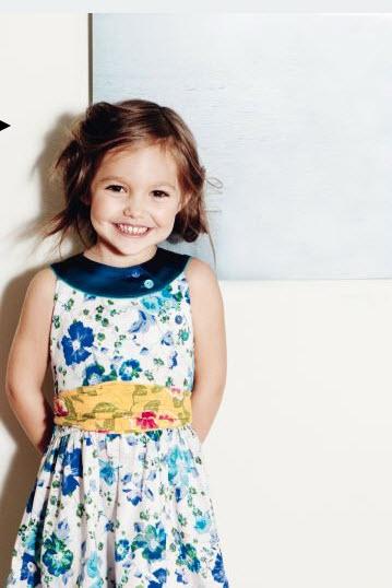 Kenzo Kids Fashion mit floralen Prints