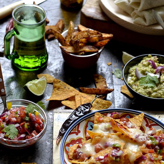 8 recetas mexicanas tipo tex mex cocina for Comida para invitados
