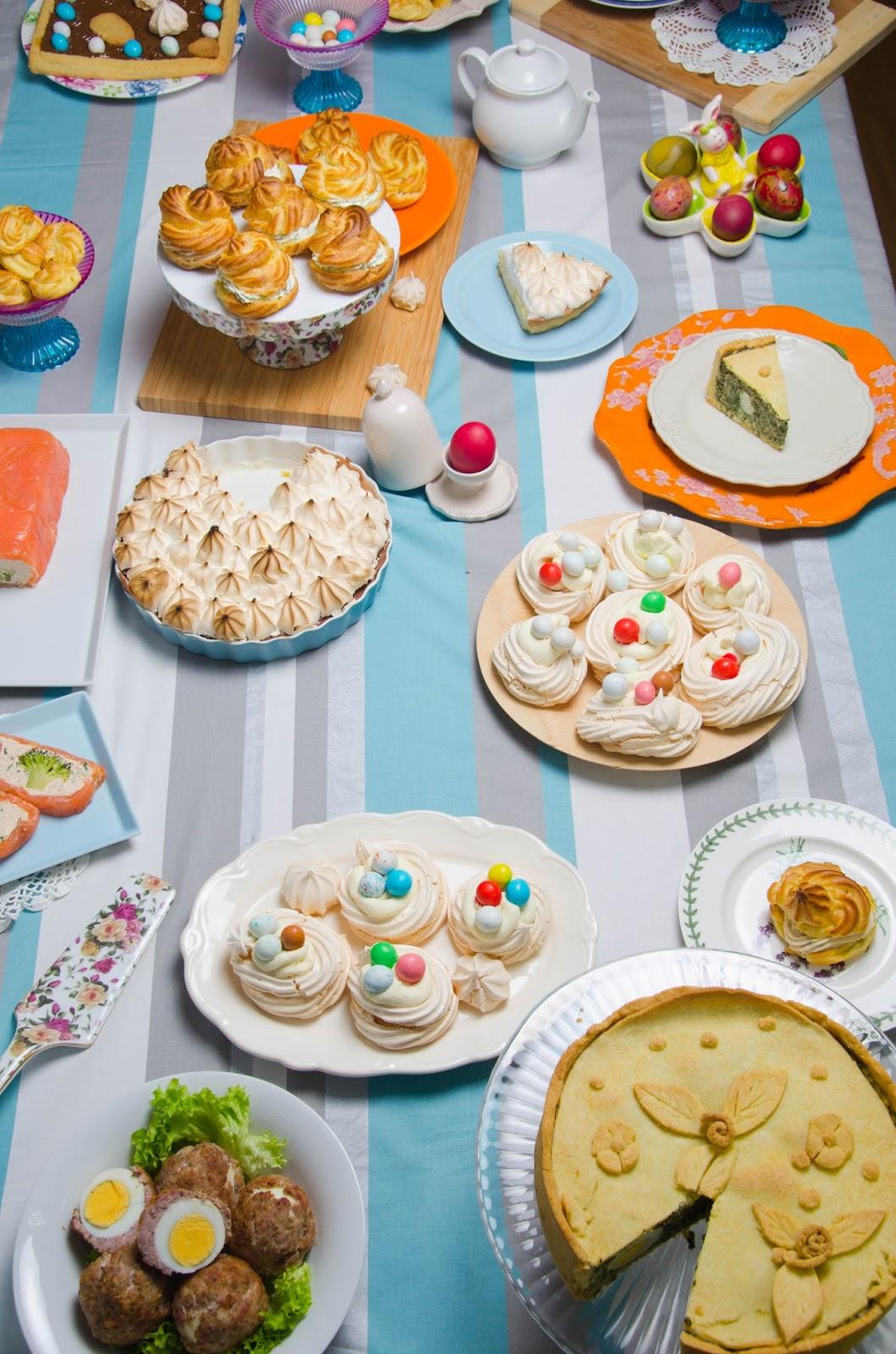 Święta Wielkanocne, kilka propozycji i harmonogram prac kuchennych
