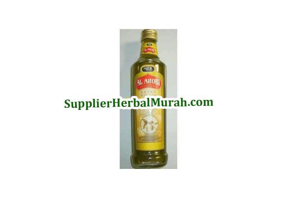 Grosir Minyak Zaitun Extra Virgin Al-Arobi 325 ml 6 Botol