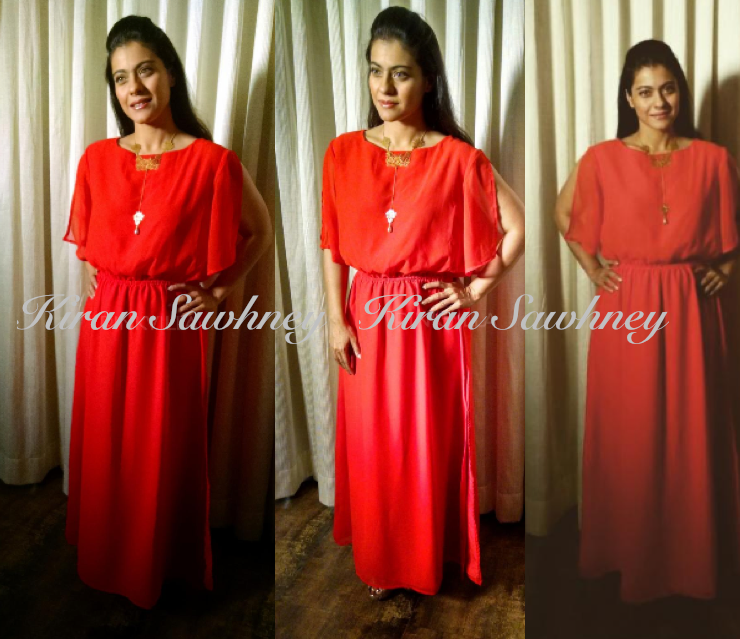 Kajol for a TV show in The closet label