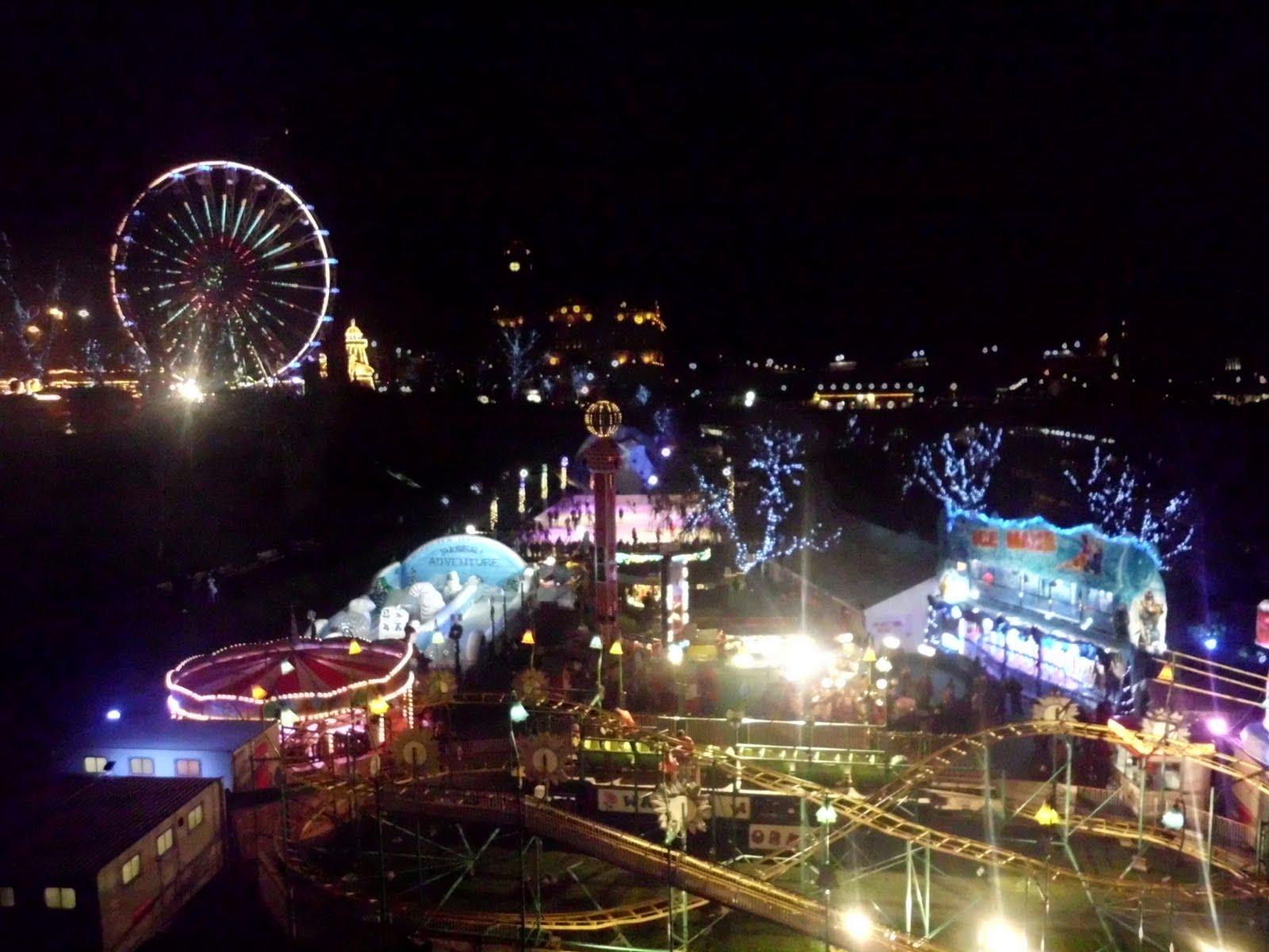 Feria de navidad de Edimburgo