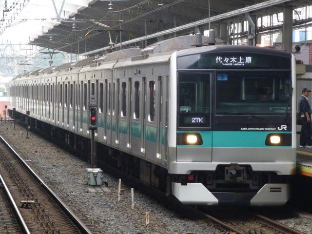 東京メトロ千代田線 代々木上原行き7 JR東日本E233系2000番台