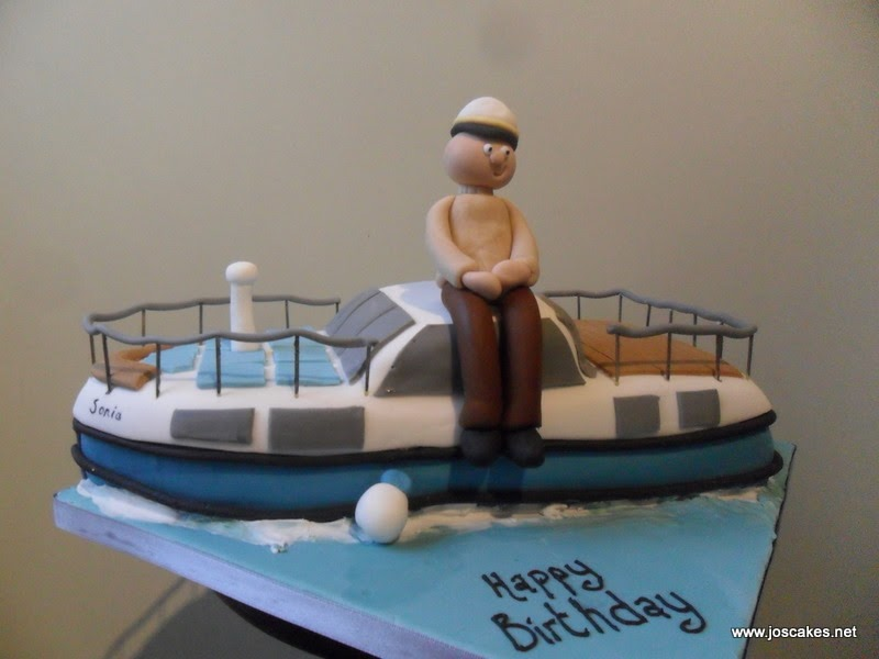 Cake Images Boat : Jo s Cakes: Sail Boat Themed Cake