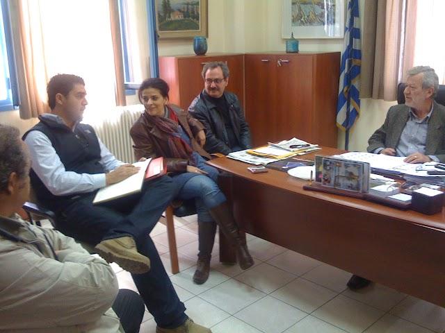 Συνάντηση Κόλλια με Σύλλογο Μηχανικών Τριφυλίας