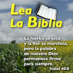 """""""APOYAMOS LA LECTURA DE LA BIBLIA"""""""