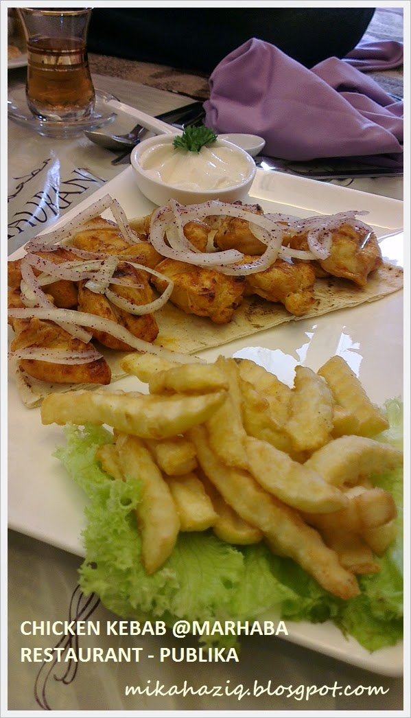 chicken kebab publika