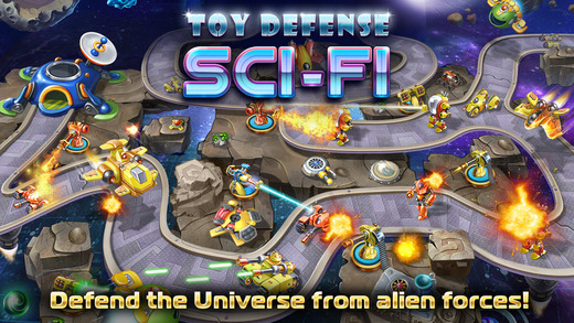 Download Toy Defense 4 Sci-Fi v1.10.0 APK (Mod Money) Data Obb Full
