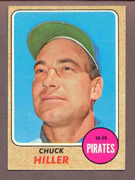 Chuck Hiller 1968 baseball card