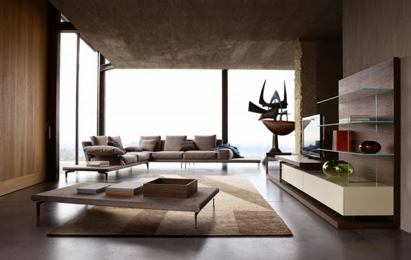 Moderne Wohnzimmer Möbel