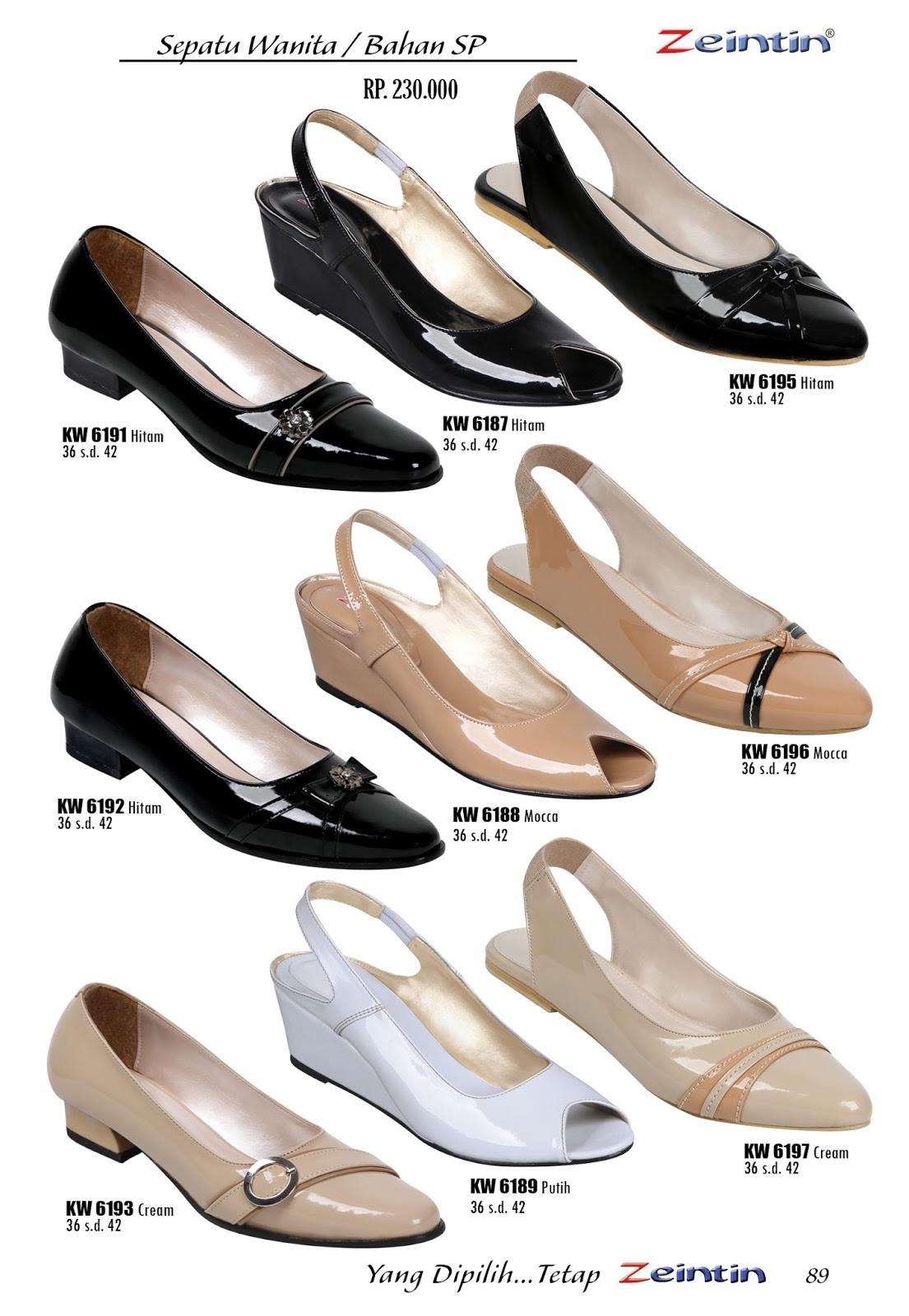 Sepatu Wanita Bahan SP I - Online Mall Sepatu dan Tas Indonesia