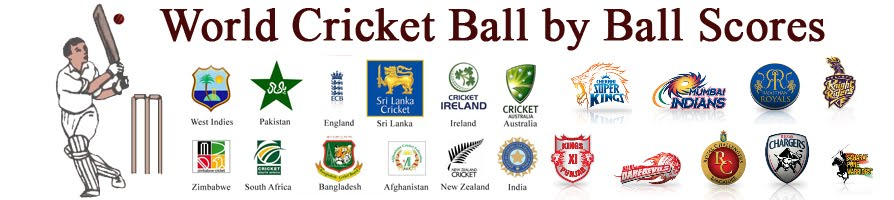 World Cricket - Live Streaming, Live Scores, Ball by Ball Updates