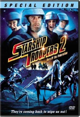 Poster Of Starship Troopers 2 (2004) 720p BRRip Dual Audio