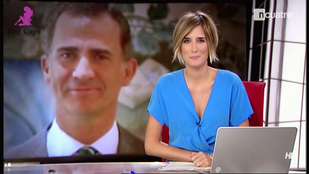ANE IBARZABAL, NOTICIAS CUATRO (06.08.14)