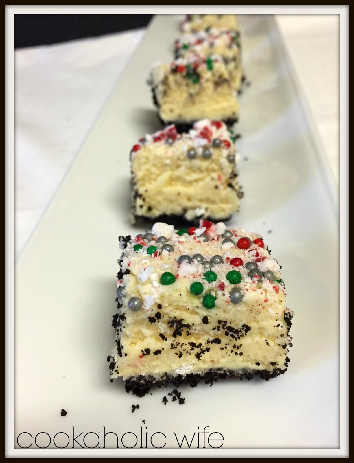 Cookaholic Wife: Vanilla Peppermint Fudge