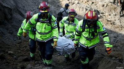 44 MUERTOS POR ALUD EN GUATEMALA