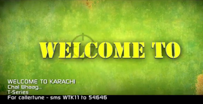 Chal Bhaag Mp3 Song and mp4 Video Download - Welcome 2 Karachi