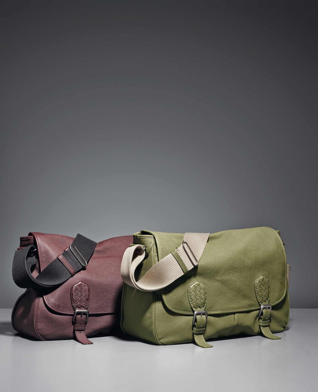 Bottega Veneta's Gardena Messenger for Men
