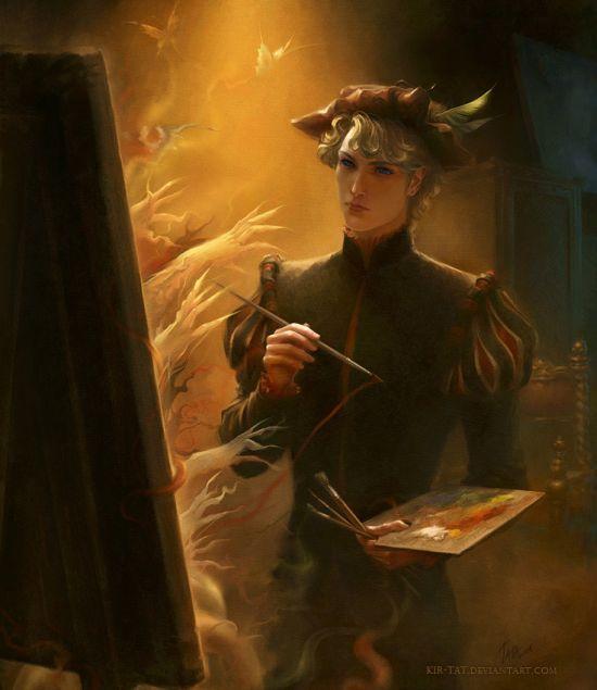 Tatiana Kirgetova  kir-tat deviantart ilustrações fantasia arte conceitual Pintor sobrenatural
