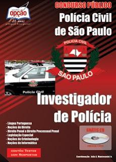 apostila investigador de Polícia-SP-2012