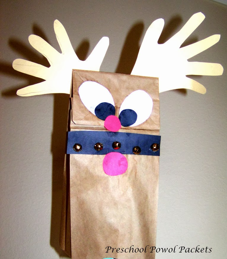 reindeer and dinosaur puppets - photo #41