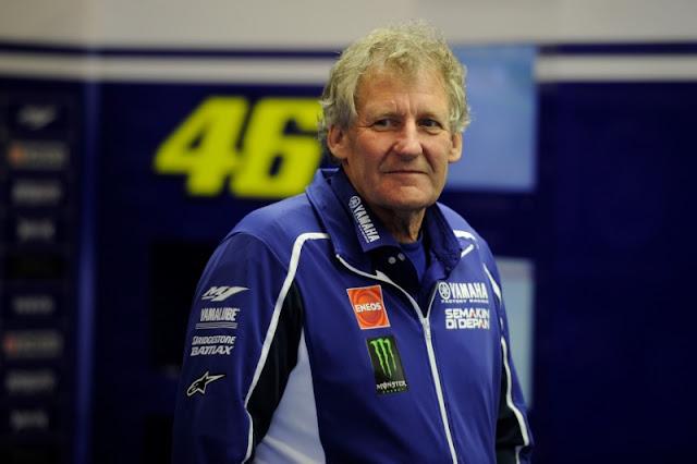 Jeremy Burgess : Menjadi lebih tua juga tidak selalu membuat kita menjadi lebih cerdas . . Rossi tertekan ?