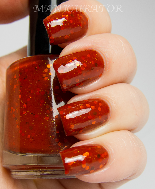 manicurator: Smitten Polish Holiday 2012 Swatch and Review